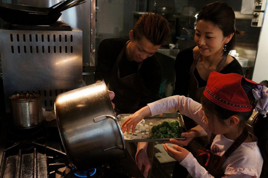 千種の野菜フレンチレストランでお仕事体験